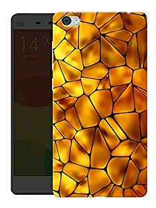 """Humor Gang Mosaic Yellow Tiles Printed Designer Mobile Back Cover For """"Xiaomi Redmi Mi5"""" (3D, Matte, Premium Quality Snap On Case)"""