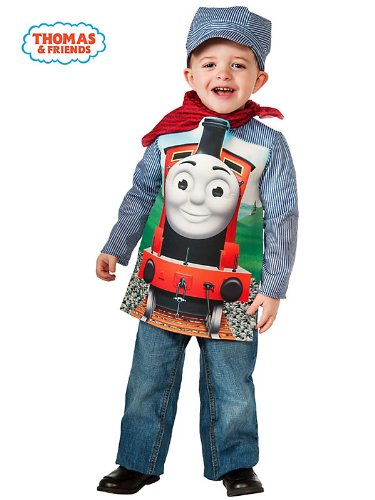 Rubies Thomas and Friends: Deluxe James The Red Engine and Engineer Costume