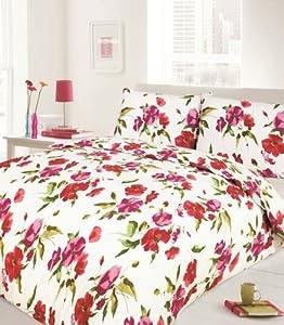 bettwasche mit rosenmuster angebote auf waterige. Black Bedroom Furniture Sets. Home Design Ideas