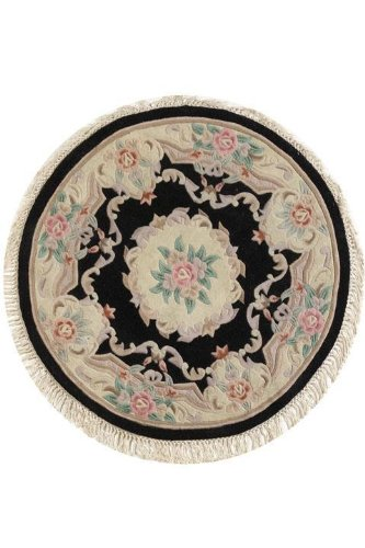 Where to buy imperial area rug 8 round black mcbrydejikdaba for Where to buy round rugs