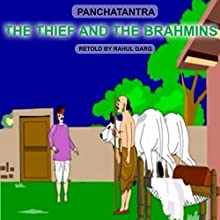 The Thief and the Brahmins Audiobook by Dhruv Garg Narrated by Dhruv Garg