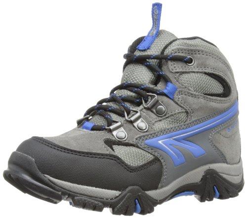 Hi Tec  Nepal WP JR,  Scarpe da escursionismo e trekking bambino, Grigio (Grau (Charcoal/Black/Blue 051)), 32