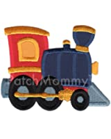 PatchMommy Iron On Applique Patch, Train - Kids Baby