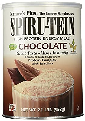 Spiru-Tein (Spirutein) Shake - Chocolate Nature's Plus 2.1 lbs Powder