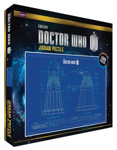 Doctor Who Dalek Blueprint TV Television