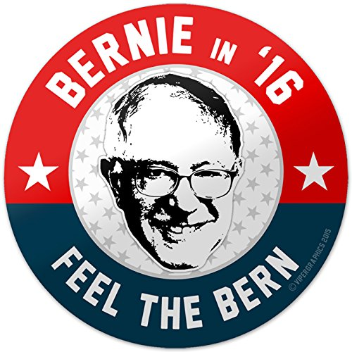 Vipergraphics, Bernie Sanders Bumper Sticker Feel The Bern 2016 4
