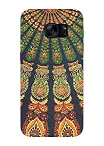 MiiCreations 3D Printed Back Cover for Samsung Galaxy S7,Pattern