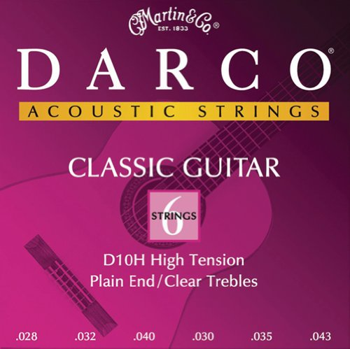 Darco D10H  Nylon Acoustic Guitar Strings, Custom