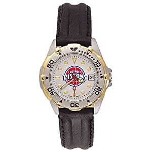 NSNSW21907P-Ladies Leather Detroit Pistons All Star Watch by NBA Officially Licensed