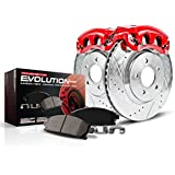 Power Stop KC1943A 1-Click Performance Brake Kit with Calipers, Front Only