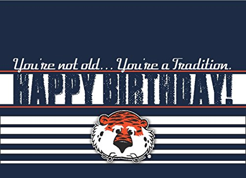 Popular Birthday Wishes Cards for Auburn Tigers Football Birthday – Football Team Birthday Cards