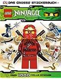 LEGO Ninjago Das große Stickerbuch: über 1.000 tolle Sticker