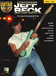 Guitar Play-Along Volume 125: Jeff Beck. Partituras, CD para Acorde de Guitarra, Guitarra