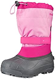 Columbia Childrens Powderbug Plus Winter Boot (Toddler/Little Kid), Glamour/Orchid, 12 M US Little Kid