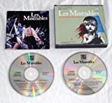 Les Miserables. Original london cast recording. ORIGINAL 1985 1st ISSUE DOUBLE CD IN OLD STYLE FAT BOX CASE WITH 24 PAGE BOOKLET. ENCORE CD1. CAMERON MACKINTOSH / COLM WILKINSON / DAVE WILLETTS