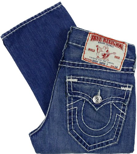 True Religion Men's Ricky Super T Jeans SXM Trustfall (34)