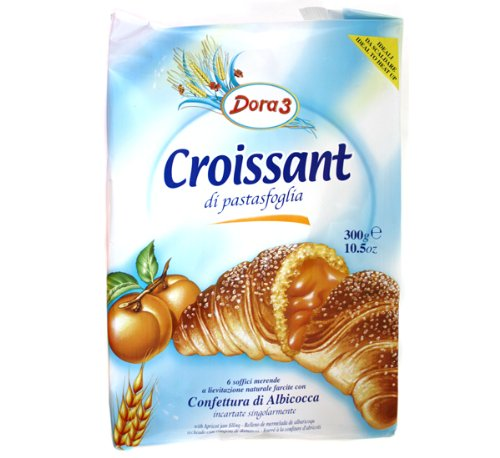 Dora3 Croissant with Apricot Filling