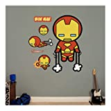 Kawaii Iron Man Fathead REAL.BIG Wall Graphic