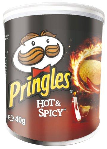 Pringles Hot und Spicy, 12er Pack (12 x 40 g)