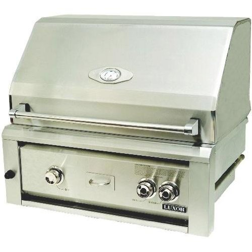 Luxor Gas Grills 30 Inch All Infrared Built-in Natural Gas Grill Aht-30-bi-ng