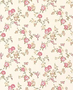Graham brown 50 446 spellbound collection rose cottage for Papier peint cottage anglais