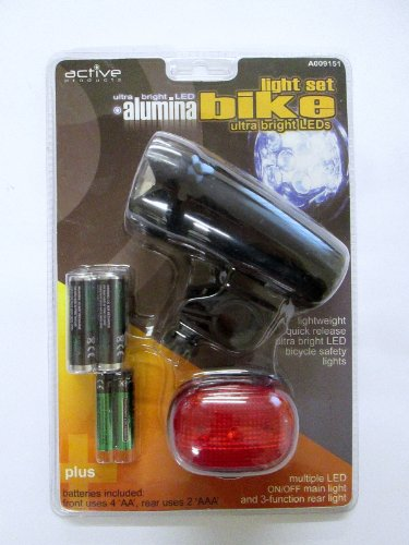 active-products-alumina-led-bike-light-set-front-rear-black