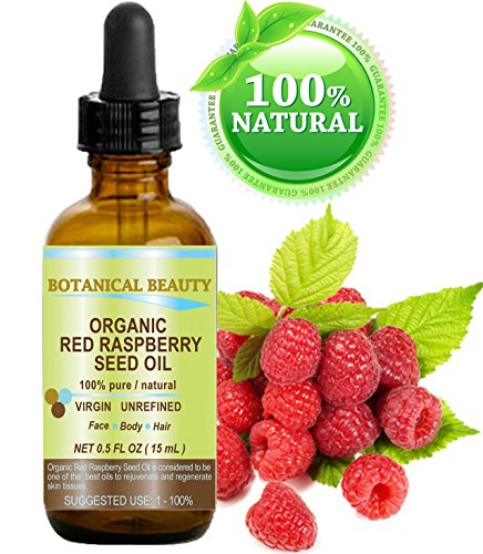 Botanical Beauty Red Raspberry Seed Oil Organic. 100