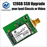 New 128GB SSD Replace MK1231GAL HS12YHA 120GB for 6th 7th Gen Classic Hdd