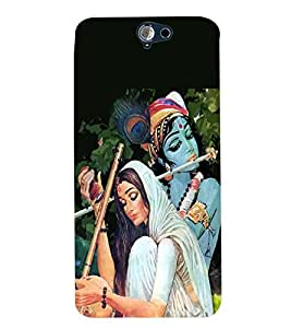 Fuson Premium Bhakt Meera Printed Hard Plastic Back Case Cover for HTC ONE A9