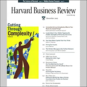 Harvard Business Review, November 2011 | [Harvard Business Review]