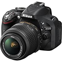 Nikon D5200 Digital SLR Camera (Black) with 18-55mm G VR DX AF-S Lens and 55-200mm VR DX AF-S Lens from Nikon