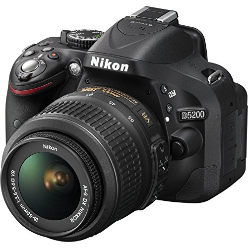 Nikon D5200 Digital SLR Camera Review