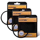 ZOMEi 67mm 4 Points Star Filter + 6 Points Star Filter + 8 Points Star Filter for Canon Nikon Cameras
