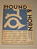 1932 Hound & Horn: Wallace Stevens - John Dos Passos - Marianne Moore - Dance Credoes - Architecture