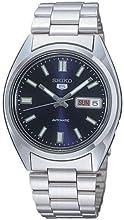 Comprar Seiko SNXS77 - Reloj analógico de caballero automático con correa de acero inoxidable plateada - sumergible a 30 metros