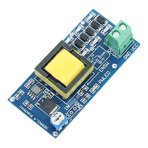 Icstation DC to DC Voltage Regulator Step up Power Supply Boost Converter Module 5-12V to 280-1200V (Voltage Supply compare prices)