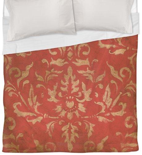 Thumbprintz Duvet Cover, King, Golden Baroque front-484011