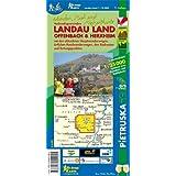 Landau Land, Offenbach & Herxheim, Wander-, Rad- und Freizeitkarte
