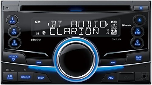 Clarion(クラリオン) CX315 USBスロット/Bluetooth®搭載 2DIN CDレシーバー CX315