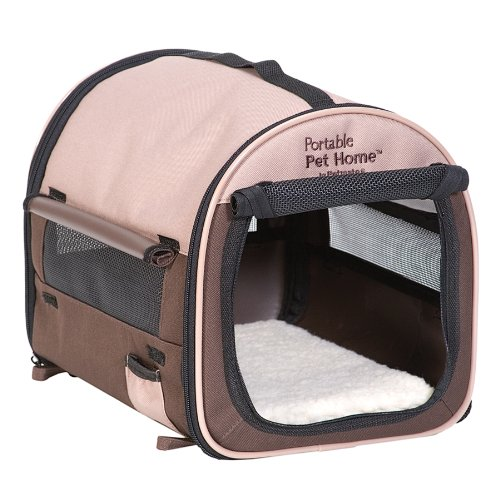 Petmate Portable Pet Home, Mini, Dark Taupe/Coffee Grounds Brown