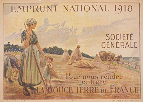 vintage-francese-ww1-1914-18-propaganda-il-1918-prestito-nazionale-per-tornare-a-noi-l-intero-dolce-