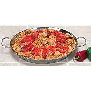 Chef's Secret 18 inch, 4-in-1 Fry Pan - Grill Pan - Paella Pan & Griddle by Chef's Secret