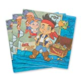 Disney Jake & the Neverland Pirates Beverage Napkins - 16 per Pack