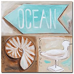 Where\'s the Ocean by Amanda Brooks Premium Gallery-Wrapped Canvas Giclee Art (Ready-to-Hang)