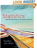 Statistics: The Exploration & Analysis of Data (Available Titles Aplia)