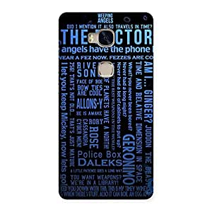 Gorgeous Blue Doc Angel Back Case Cover for Huawei Honor 5X