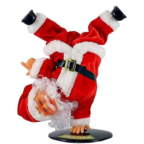 Animated Christmas Decorations Indoor Dancing Santa C...