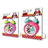MINNIE - Reloj despertador de campanas de minnie mouse