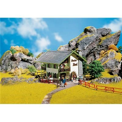 ROSEL GUEST HOUSE - FALLER HO SCALE MODEL TRAIN ACCESSORIES 130286