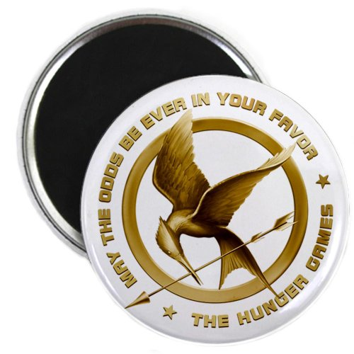 Hunger Games Mockingjay old Magnet by CafePress
